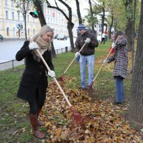 День благоустройства проходит в Петербурге
