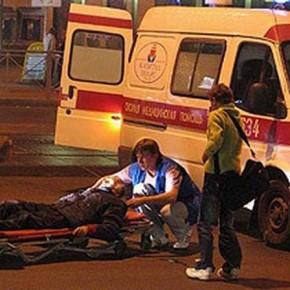 Снова пьяные и полицейские ДТП