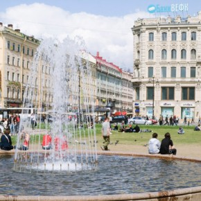 Сезон фонтанов в Петербурге закрыт