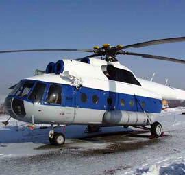 Крушение Ми-8 под Красноярском. Есть пострадавшие