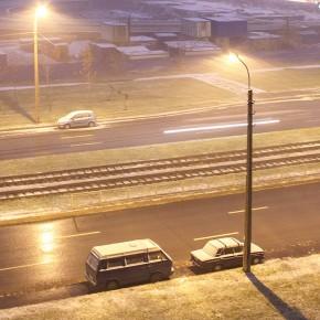 В Петербурге - снег