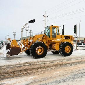Дан старт уборке снега в Петербурге