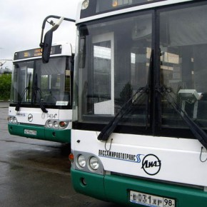 В Петербурге снова обстреляли автобусы