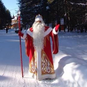 В день рождения Деда Мороза зажгут первую ёлку в стране