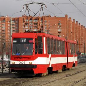 Движение трамваев по проспекту Культуры будет закрыто до 30 апреля