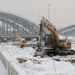 Для открытия движения под Американскими мостами 25 декабря делается всё возможное