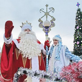 Встреча Деда Мороза в Петербурга пройдет 22 декабря