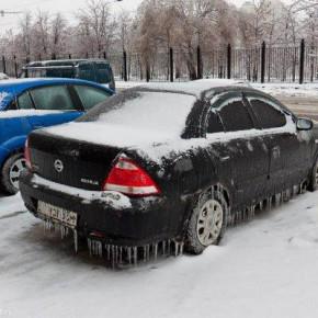 Москвичи ждут ледяного дождя, Петербургу грозит обычный