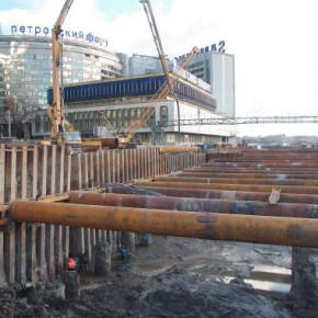 Пироговскую набережную откроют не раньше мая 2013
