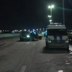 На КАД водитель совершил самоубийство сразу после аварии