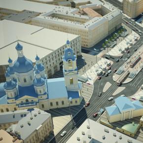 Проект реконструкции Сенной площади утвержден Смольным (фото)