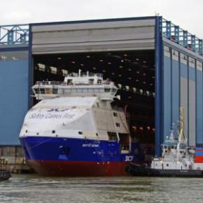 Новый ледокольный корабль получил от Путина имя Витуса Беринга