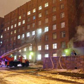 Пожар в Покровской больнице спровоцировала пьяная посетительница