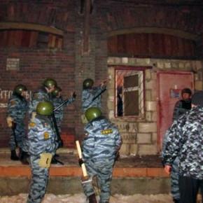 Защитники пакгауза Варшавского вокзала сдались полиции только после боя