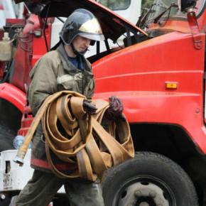 Пожар в коммуналке на Съезжинской: обошлось без пострадавших