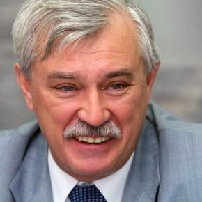 Губернатор Петербурга Полтавченко отмечает шестидесятый день рождения
