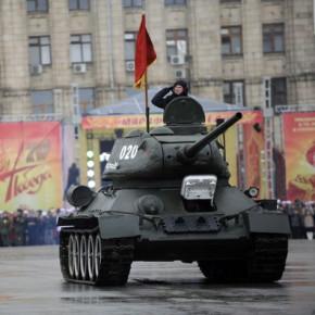 В Волгограде отметили 70-летие победы в Сталинградской битве
