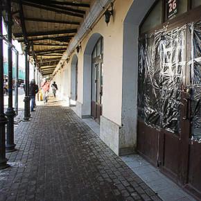 Уличный рынок Апраксиного двора закрыли