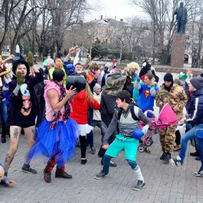 Петербургским мобберам не дали станцевать