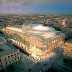 Открытие второй сцены Мариинского театра для зрителей состоится второго мая