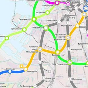 Смольный: метро на Юго-Западе Петербурга будет построено в срок