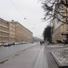 Московский проспект закроют на ремонт по частям
