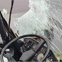 Серьезное ДТП на кольцевой: ПАЗ столкнулся с иномаркой