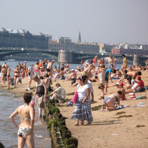 25 официальных пляжей Санкт-Петербурга на сезон 2017