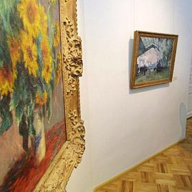 Зал импрессионистов может переехать с 3 этажа Эрмитажа в Москву