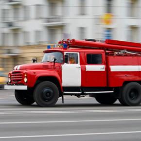 Пожар на Стачек: горит один из цехов Кировского завода