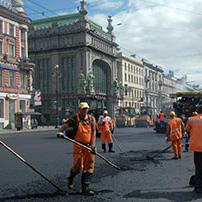 Ремонт Невского проспекта продлится месяц