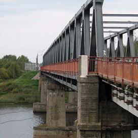 Строительство нового моста через Волхов на трассе