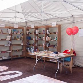 Читальный зал под открытым небом начинает работу в ЦПКиО