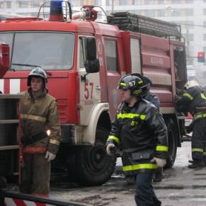 Пожар на Полтавской 9: горели помещения ОЖД