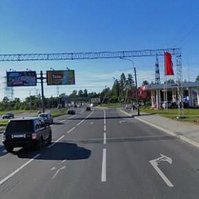 Выборгское шоссе в районе Озерков отремонтируют