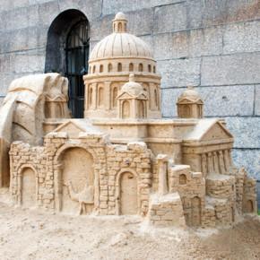 Фестиваль песчаных скульптур в Петропавловке продлится до конца августа