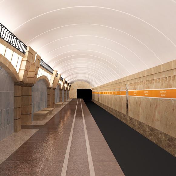 Новые станции метро на Васильевском острове показали на фото