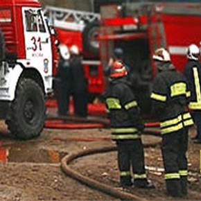Пожар на Ленинском: горела 8-ми комнатная