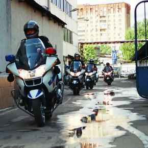 В Петербурге появилась дорожная полиция на мотоциклах