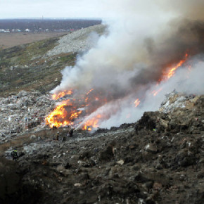 Свалку на Волхонском шоссе избавят от пожаров консервированием