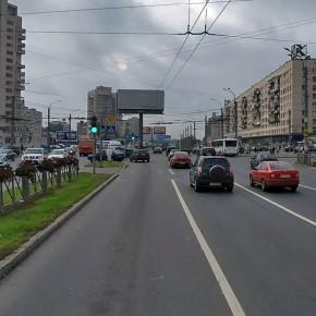 Ремонт проспекта Славы продлится всю 2-ю половину июля