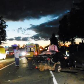 Ночное ДТП на Колпинском шоссе: в