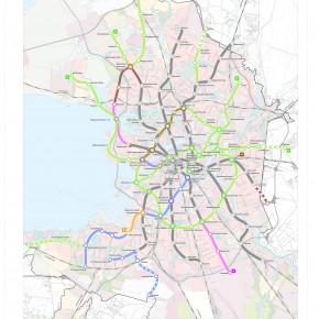 Официальная схема развития метро Санкт-Петербурга до 2025 года