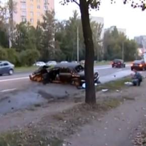ДТП на Народного Ополчения: в столкновении с деревом погиб водитель