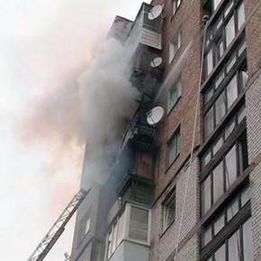 Из-за пожара в коммуналке на Яхтенной эвакуировали 50 человек