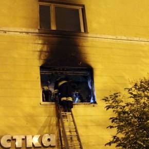 Серьезный пожар в гостинице