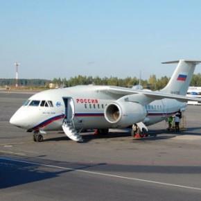 Аварийный Ан-148 приземлился в Пулково со второго захода