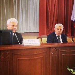Новым главой Выборгского района утвердили Валерия Гарнеца