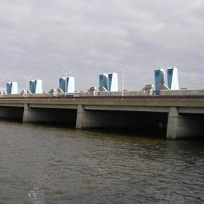 В рамках ремонта петербургской дамбы обновят асфальт и бетон