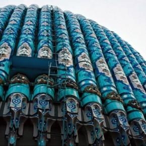 К Новому Году мечеть на
